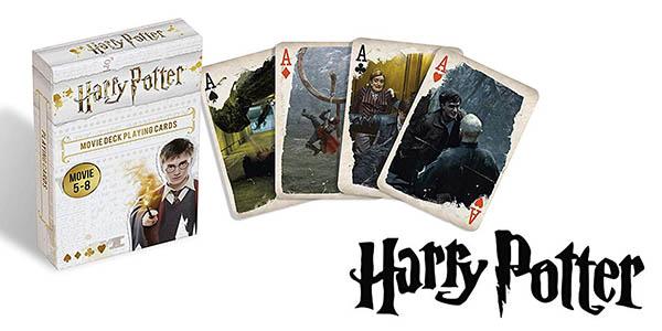 Harry Potter baraja de cartas doble oferta