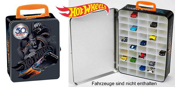 Hot Wheels maletín para coches barato