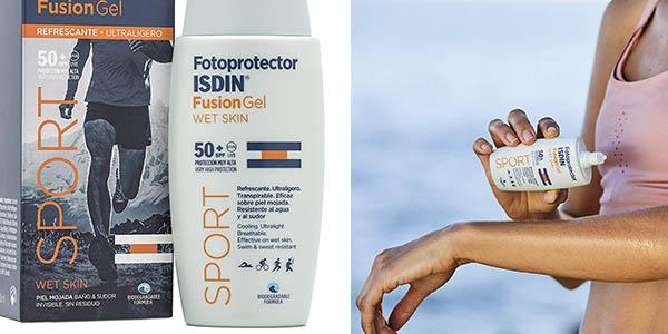 ISDIN Fusion Gel sport SPF 50 crema solar chollo