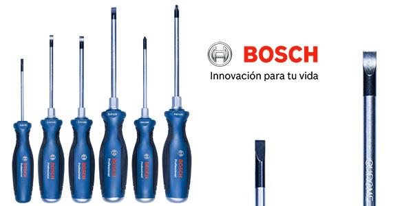 Juego de 6 destornilladores Bosch Professional chollo en Amazon