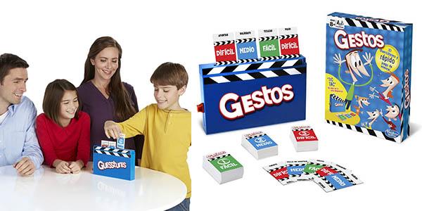 juego de cartas Gestos Hasbro oferta
