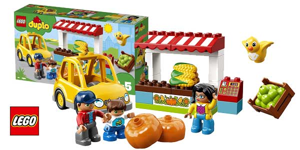 LEGO DUPLO Farmer's Market Town (10867) barato en Amazon