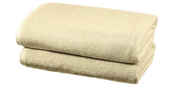 Juego de 2 toallas de baño AmazonBasics baratas en Amazon