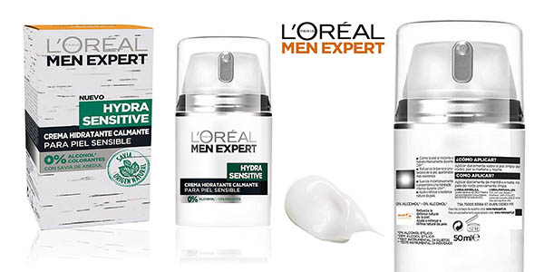 L'Oréal Paris Men Expert Hydra Sensitive chollo