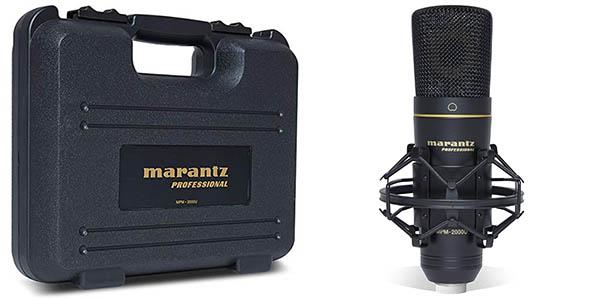 Micrófono USB Marantz Professional MPM-2000U