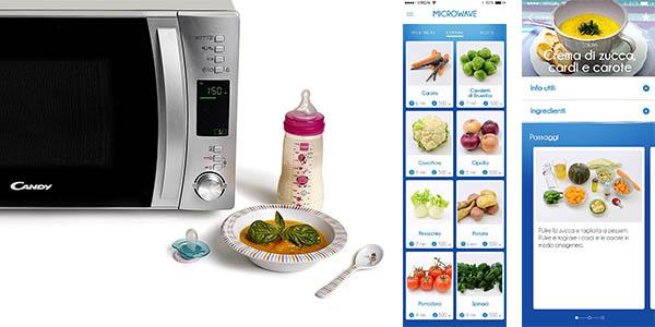 microondas con grill Candy CMXG25DCS oferta