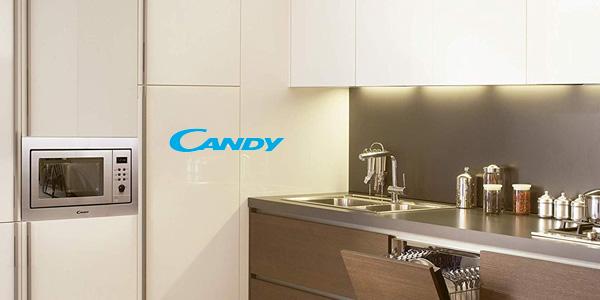Microondas integrable Candy MIC211EX de 800 W con grill y 21 L chollazo en Amazon