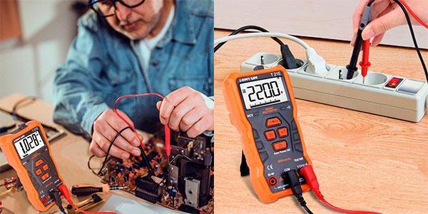 Multímetro digital automático Lomvum T21E barato