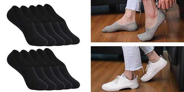 pack de calcetines invisibles unisex oferta