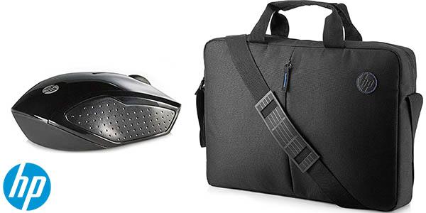 Pack de maletín y ratón inalámbrico HP Value