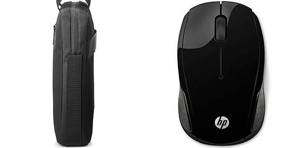 Pack de maletín y ratón inalámbrico HP Value barato