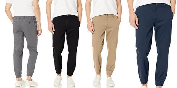 pantalón Amazon Essentials slim-fit Jogger Pant barato