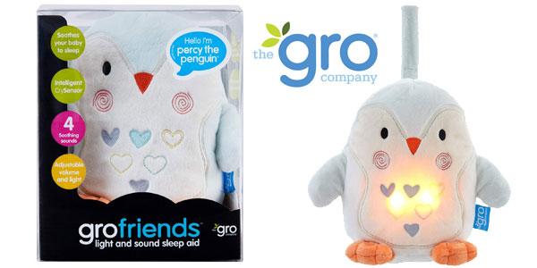 Peluche Duermebebés Percy el Pingüino Tommee Tippee GRO con sensor de llanto barato en Amazon