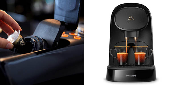 Philips L'OR Barista LM8012/60 cafetera eléctrica con cápsulas pack chollo