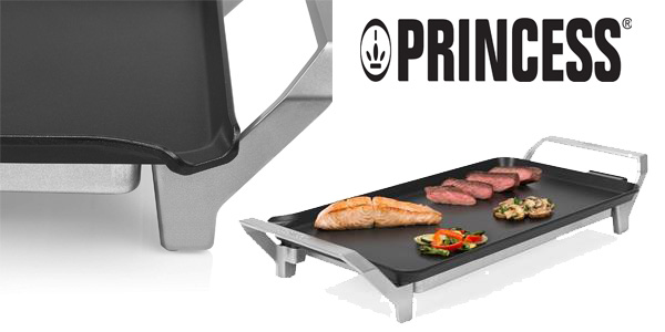 Plancha para cocinar sin aceite Princess Table Chef Premium barata en Amazon