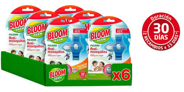 Pulseras antimosquitos infantiles Bloom