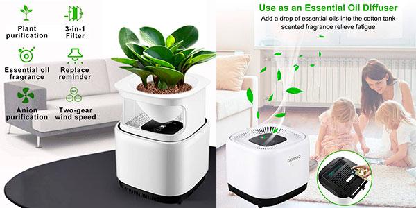Purificador de aire Geargo con filtro Hepa barato