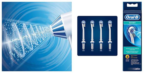 recambios para cepillo irrigador Oral-B Oxyjet oferta