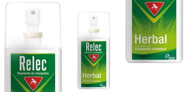 Repelente antimosquitos Relec Herbal de 75 ml barato en Amazon