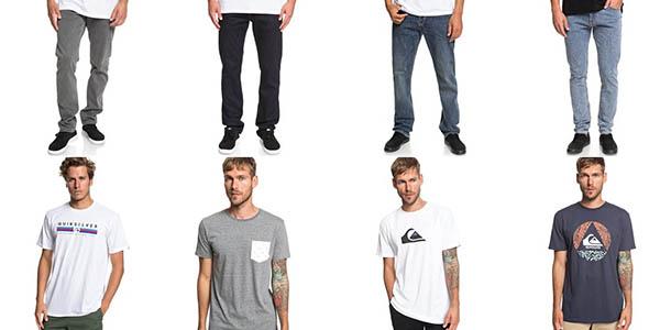ropa para hombre Quiksilver en las rebajas de julio 2019