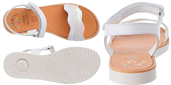 Sandalias abiertas Pablosky 462500 de piel para niña baratas
