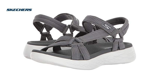 Sandalias planas Skechers On the Go 15316 baratas en Amazon