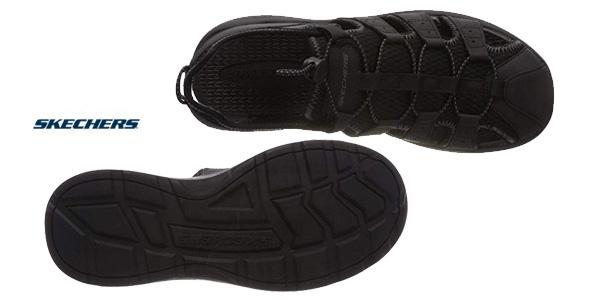 Sandalias de puntera cerrada Skechers Melbo-Journeyman 2 para hombre chollo en Amazon