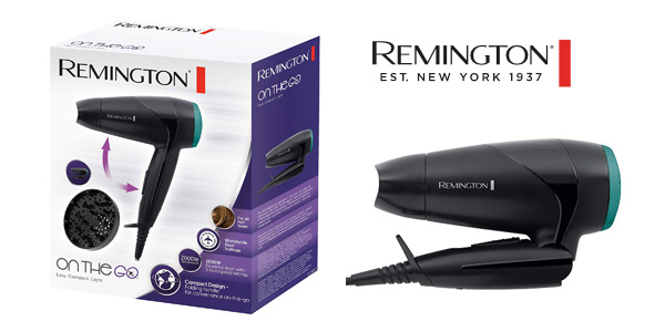 Secador de viaje plegable Remington D1500 de 2000W chollo en Amazon