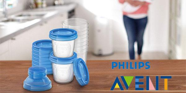 Pack x10 vasos Philips Avent (SCF618/10) de 180ml para alimentación infantil chollazo en Amazon