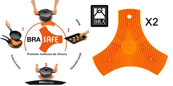 Pack x2 Salvamanteles de silicona BRA Safe baratos en Amazon