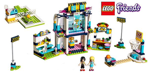 Chollo Set Polideportivo de Stephanie de LEGO Friends con 2 minifiguras