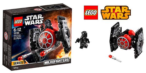 Caza TIE de la Primera Orden de LEGO Star Wars Microfighters barato