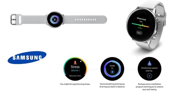 Smartwatch Samsung Galaxy Watch Active en color plata chollazo en Amazon