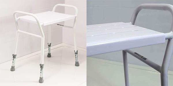 taburete para ducha para personas mayores NRS Healthcare oferta