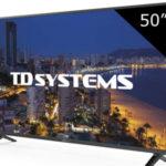 "Televisor TV LED TD Systems K50DLP8F de 50"" barato en Amazon"