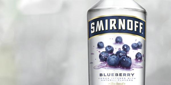 Vodka Smirnoff Blueberry Twist de 1000 ml chollo en Amazon