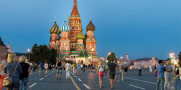 vuelos a Moscú Rusia ofertas