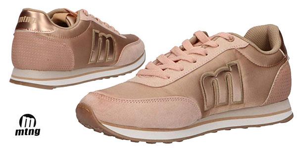 Zapatillas deportivas MTNG 56406 casual para mujer baratas en Amazon