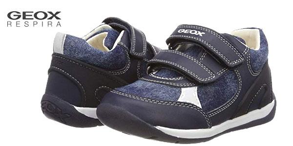 Zapatillas deportivas Geox Baby Each Boy para bebés baratas en Amazon