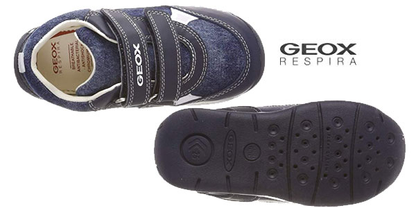 Piñón maleta Sesión plenaria  Chollazo Zapatillas deportivas Geox Baby Each Boy para bebés por sólo  19,95€ (60% de descuento)
