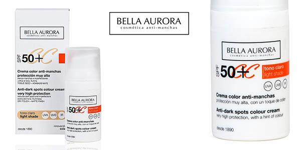 Bella Aurora crema facial SPF50 Anti-arrugas oferta
