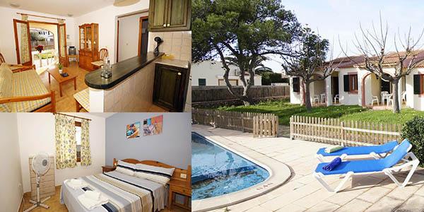 bungalows baratos en Menorca para mascotas