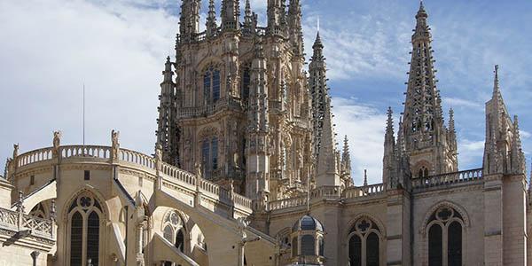 Burgos Catedral Patrimonio de la Humanidad España alojamientos baratos para visitarla