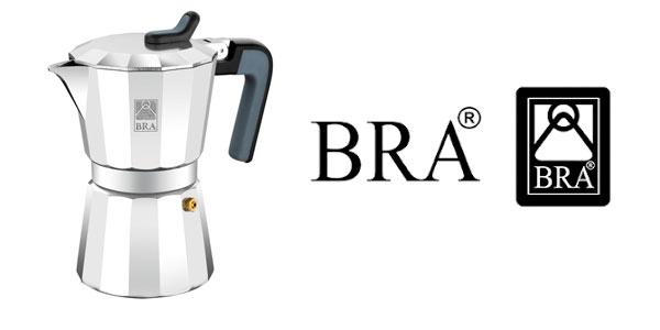 Cafetera italiana Bra Deluxe barata en Amazon