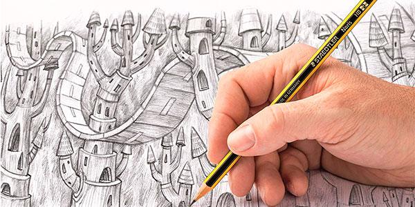 Caja de 10 lápices Staedtler Noris 120-2BK10D barata
