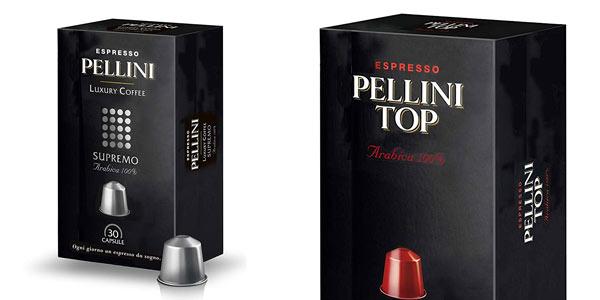 Cpsulas de café Pellini compatibles con Nespresso baratas en Amazon