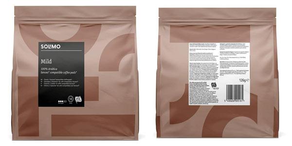 Pack 90 cápsulas de café Solimo MIld compatibles con Senseo en oferta