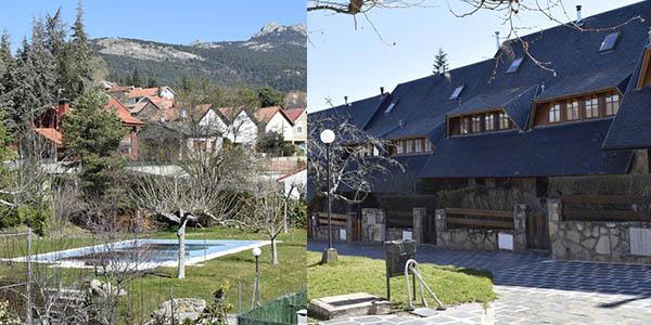 casa en la sierra de Madrid alojamiento barato