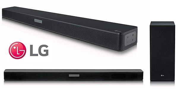 Chollo Barra de sonido LG SK5 2.1 de 360 W