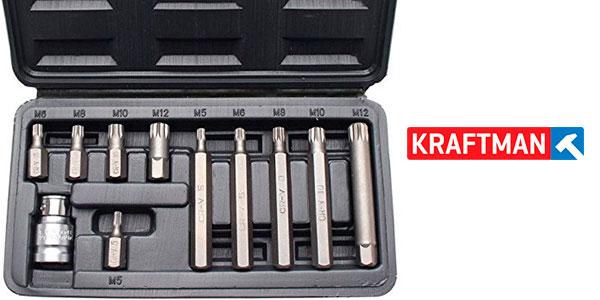 Chollo Juego Kraftmann 5030 de puntas para destornillador